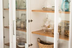 Glass Pantry Doors