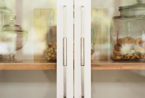 Glass Kitchen Pantry Doors