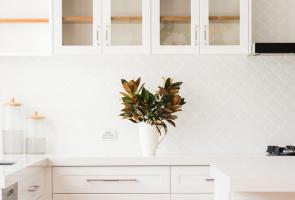 White Modern Shaker Kitchen