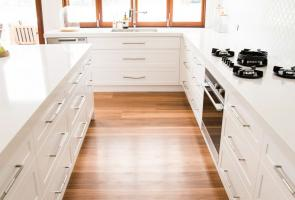 White Shaker Style Drawers