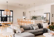 Scandinavian Inspired Living Home