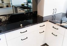 Modern 2 Pac Finish on Drawers & Door Panels