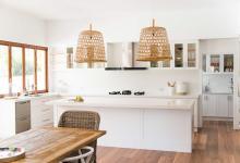 Modern Hampton Home Kitchen