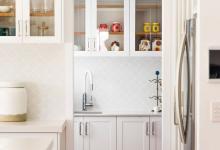Modern Hampton Home Butlers Pantry