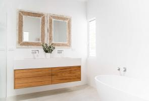Timber Veneer Vanity