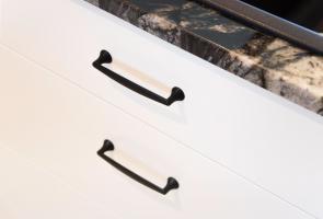 Modern 2 Pac Drawers Black Handles