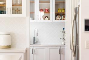 Modern White Hampton Butler Pantry